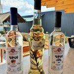 Настойка на розмарине и чача из сливы и терна, произведенные винодельней Чернова в Анапе