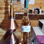 Чача на розмарине и аппарат для перегонки производство винодельни Чернова в Анапе
